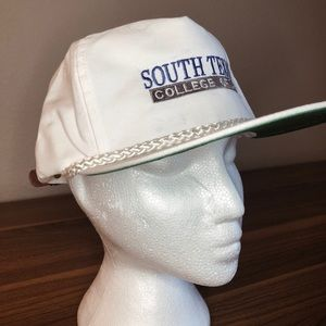 White Rope Hat   South Texas College of Law NWOT